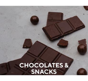 Chocolates and Snacks